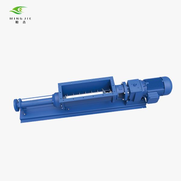 hopper progressive cavity pump in block construction
