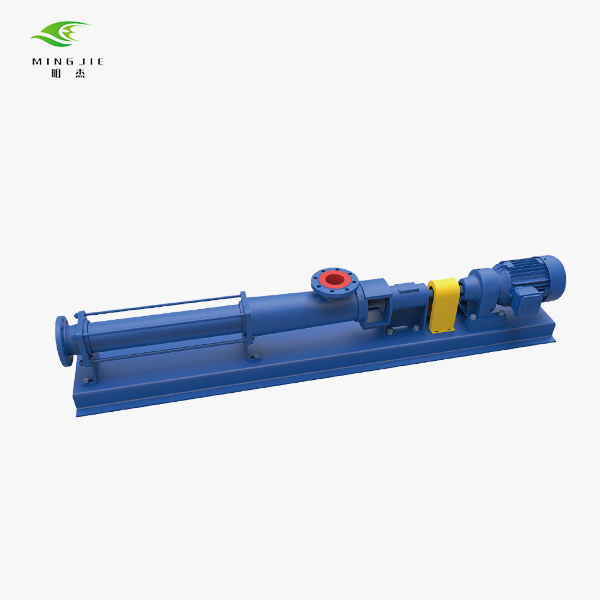 progressive cavity pump in bearing block design